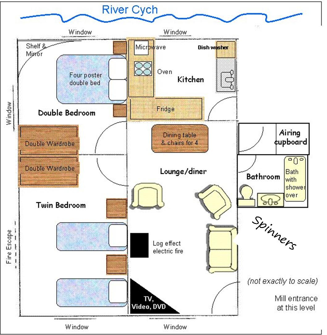 spinners floor plan